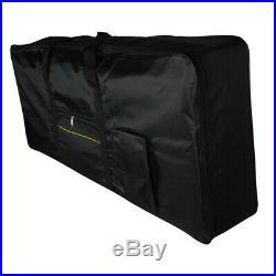 15X(Portable 61-Key Keyboard Electric Piano Padded Case Gig Bag Oxford Clot 3B5)