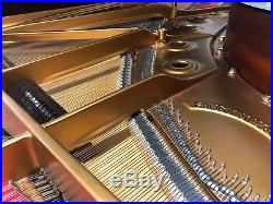 1964, Steinway Model B grand piano, high gloss black case, fully reconditioned