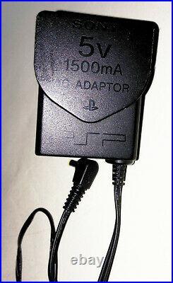 2 x PSP-3003 Consoles CFW 9 Games Bundle Charger Cable Cases PSP 3000 PRO-C 6.60