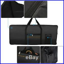 20X(Portable 61-Key Keyboard Electric Piano Padded Case Gig Bag Oxford Clot9G1)