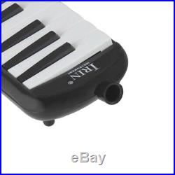 32 Key Piano Style Melodica in Case for Music Lovers Beginners Gift Black