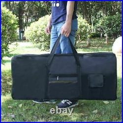 3XIRIN Waterproof Oxford Portable Woven Case Cover Case for 61 Piano Keyboard
