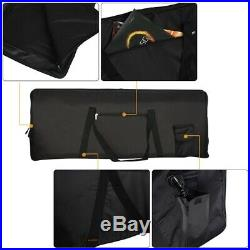 5XPortable 76-Key Keyboard Electric Piano Padded Case Gig Bag Oxford Cloth I4D3