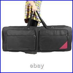 73-Key 76-Key Keyboard Electric Piano Soft Case Gig Bag PE Foam Padded P1U9