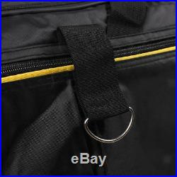 88-Key Keyboard Electric Piano Organ Gig Bag Soft Case Durable Zipper Black