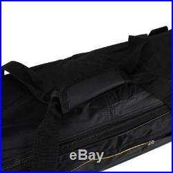 88-key Electronic Keyboards Electric Piano Organ Gig Bag Case Organizer