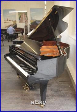A 2002, Schimmel GP169 Konzert grand piano with a black case. 3 year warranty