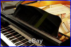 A 2015, Yamaha GB1 baby grand piano with a black case. 3 year warranty