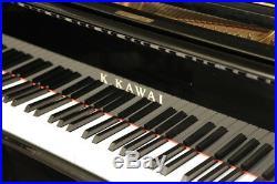A 2017, Kawai GL-50 grand piano with a black case. 3 year warranty
