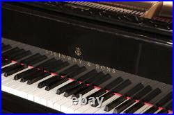 An 1898, Steinway Model B grand piano with a black case. 3 year warranty
