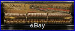 Antique, 1887, Steinway upright piano with a black case. 12 month warranty