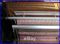 Astor Upright Piano in Black Gloss Case