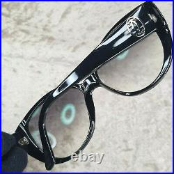 Authentic Cartier Sunglasses Eyeglasses T8200791 Black 56-15-140 withCase&Papers