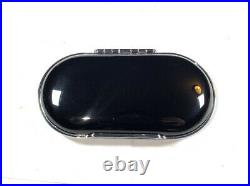BENTLEY Bentayga Piano Black Sunglasses Case Cup Holder Hard Cover Leather Lined