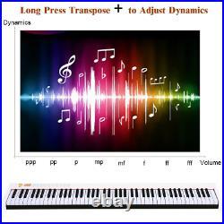 BX-II 88-key Portable Digital Piano with Bluetooth & MP3