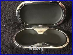 Bentley Bentayga 2016-19 Piano Black Beluga Hide Eyeglass Sunglass Case OEM