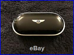 Bentley Continental GT GTC Piano Black Eyeglass Sunglass Case 3W08570835TL OEM