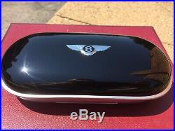 Bentley Continental Gt Flying Spur Piano Black Eyeglass Sunglasses Case Oem