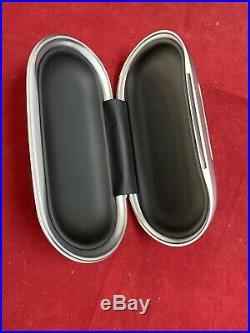 Bentley Continental Gt Piano Black Eyeglass Sunglasses Case Oem