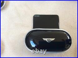 Bentley Glasses Sunglasses Case Console Piano Black LINEN interior NEW