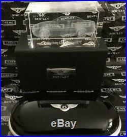 Bentley Glasses Sunglasses Case Piano Black Gloss + Black Interior + PAPERWEIGHT