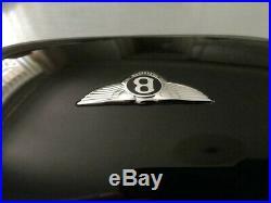 Bentley Glasses Sunglasses Case Piano Black Gloss + Black Interior PRISTINE