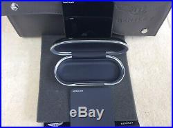 Bentley Glasses Sunglasses console Case Piano Black + Imperial Blue (ref 2)