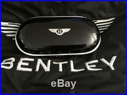 Bentley Glasses/Sunglasses console case Piano Black Black interior GENUINE