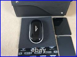 Bentley Glasses Sunglasses console case Piano Black Black interior NEW £600+