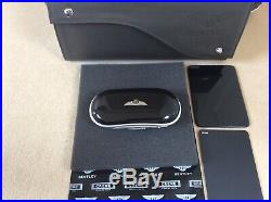 Bentley Glasses/Sunglasses console case Piano Black Black interior SUPERB