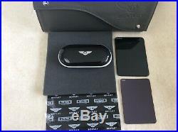 Bentley Glasses/Sunglasses console case Piano Black Damson interior SUPERB