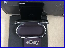 Bentley Glasses/Sunglasses console case Piano Black Damson interior (ref42)