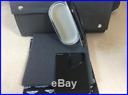 Bentley Glasses/Sunglasses console case Piano Black LINEN interior NEW