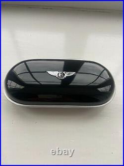 Bentley Oem Glasses console Case Piano Black/Black