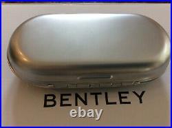 Bentley Oem Glasses console Case Piano Black/Black NEW