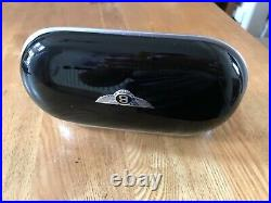 Bentley Sunglasses Case in Piano Black with Beluga Interior