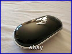 Bentley Veneer Sunglasses Case Cup holder cover GT SPUR GTC Piano Black Beluga