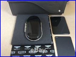 Bentley glasses sunglasses Bentayga Piano Black New Style console Case OEM