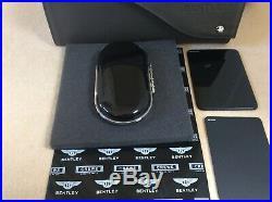 Bentley glasses sunglasses Bentayga Piano Black New Style console Case OEM(ref3)