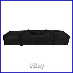 Black 76-key Keyboard Electronic Piano Padded Case Gig Bag Carry Bag