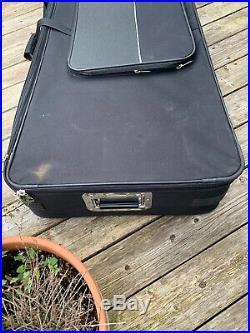Black Rat Full Size 88 key Keyboard/Stage Piano Case On Wheels, Ktc 150y