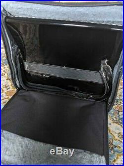 Black Scandalli Piano Accordion LMM 41 120 with MIDI, case included