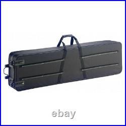 Case For Keyboard And Stage-Piano With Rolls 140 x 40 x 20