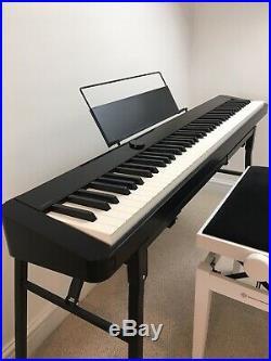 Casio PX S1000 Digital Piano Black, Including Casio SC-800P Case