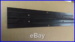 Continuous Piano Hinge 2 1/4 wide X 48 long / Black Anodized (4HARHIN225B)