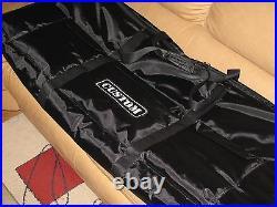 Custom padded travel bag soft case for KORG M3 61-key keyboard M 3 M3