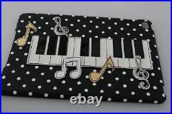 DOLCE & GABBANA Phone Case Cover Black Piano Polka Dot iPad Mini Tablet