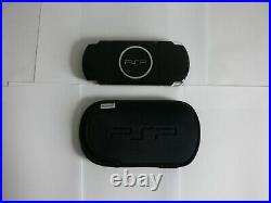 EXCELLENT Sony PSP 3001 Handheld Console System Portable Black With Box + Case