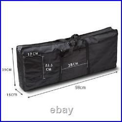 Electric Piano Carry Bag Oxford Portable 61 Key Keyboard Case Lightweight Bag