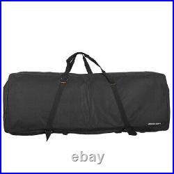 Electric Piano Organ Gig Bag Soft Case for 73-Key 76-Key Keyboard 600D T3D3
